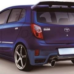 New Agya Trd Hitam Toyota Yaris Sportivo 2018 Indonesia 30 Modifikasi Tipe S G E Terbaru Otodrift