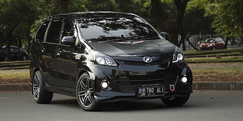 grand new avanza veloz modifikasi ulasan 45 mobil putih hitam silver otodrift 50