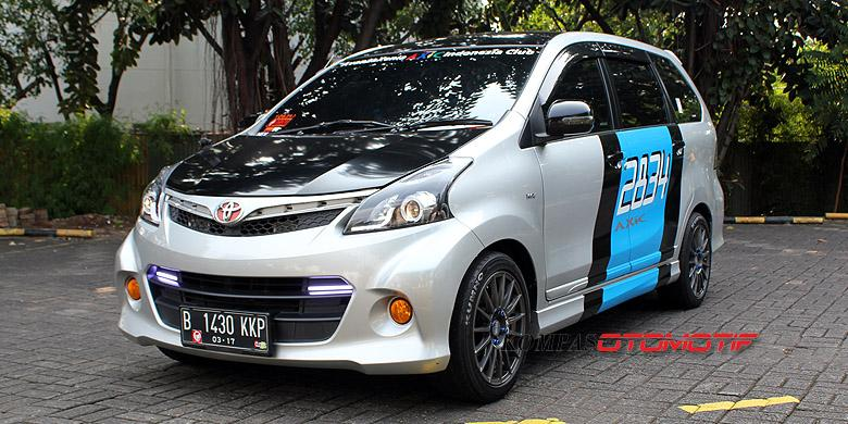 grand new avanza warna putih jual head unit veloz 45 modifikasi mobil hitam silver - otodrift