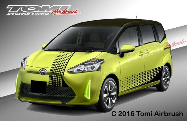 8 Konsep Modifikasi Toyota Sienta