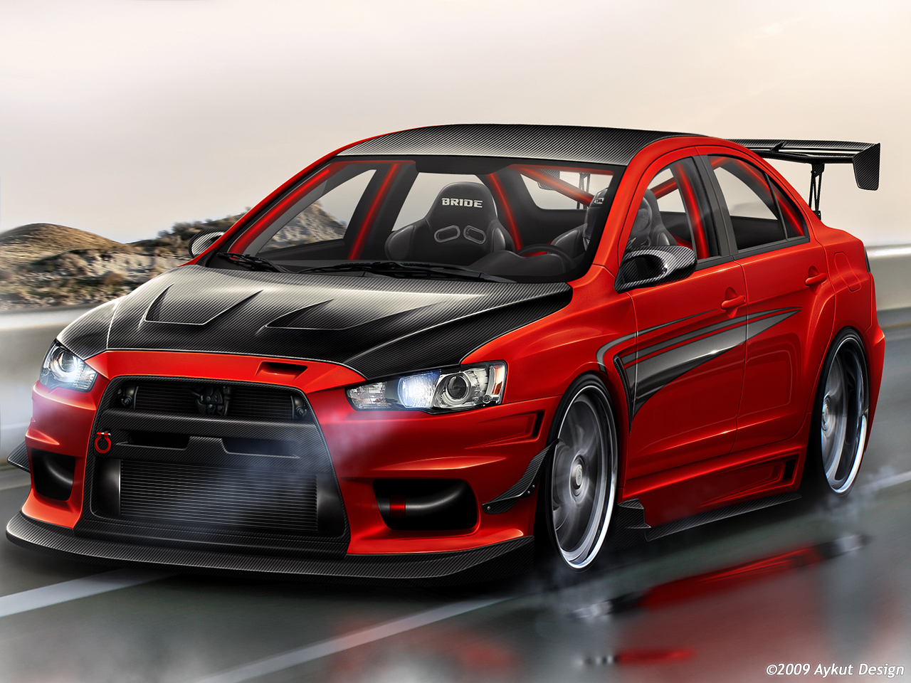30 Modifikasi Sedan Mitsubishi Lancer Evo Terbaru Otodrift