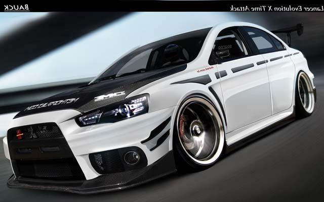Modifikasi Mobil Sedan Mitsubishi Lancer Berkaitan Dengan World