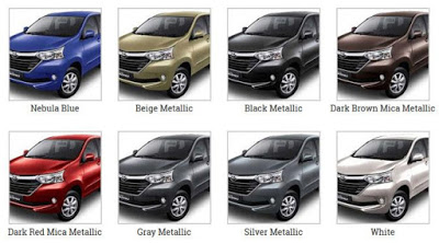 grand new avanza pilihan warna all kijang innova vs crv lengkap toyota 2018 otodrift
