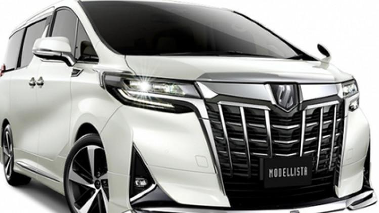 all new alphard facelift trunk lid grand avanza modelista tampilkan bodikit untuk