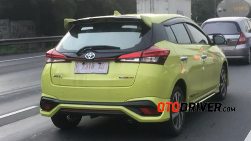 toyota yaris trd sportivo 2018 indonesia grand new avanza second spy shot generasi terbaru di