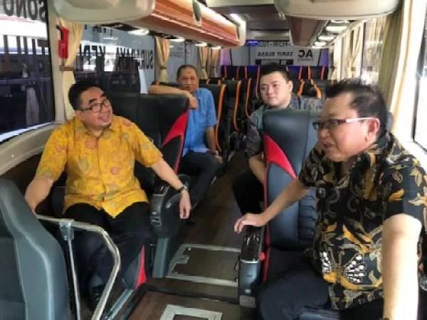 Mitsubishi Fuso Buka 2S Fleet Workshop di Malang