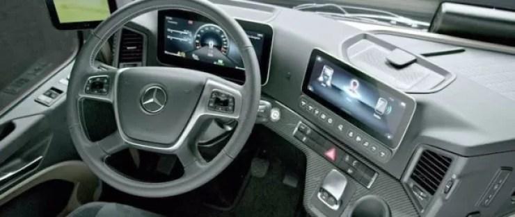 Truk Mercedes Benz Actros 2019 Dengan Kecanggihan Teknologinya