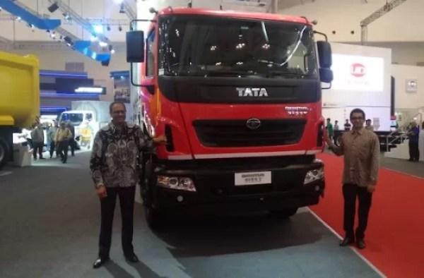 Tata Prima 3123.T 8×2 Resmi Mengaspal Di GIIAS 2019