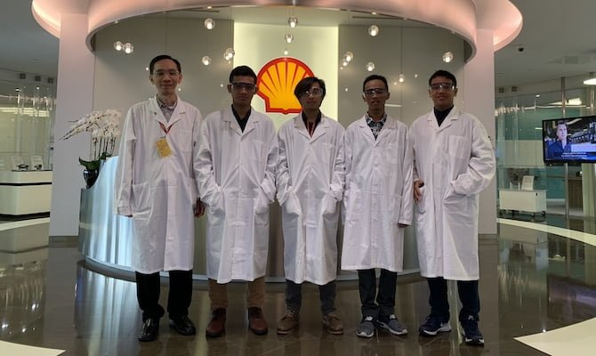 Enam Finalis Shell Lubricants 'Think Efficiency 2019 Innovation For Nation'