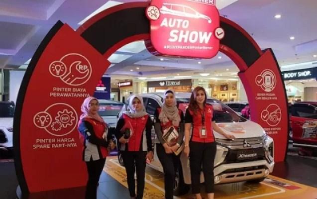 Mitsubishi Motor Auto Show Sapa Mall Artha Gading