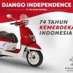 Peugeot Django Lengkapi Diri Dengan 17 Warna Pilihan
