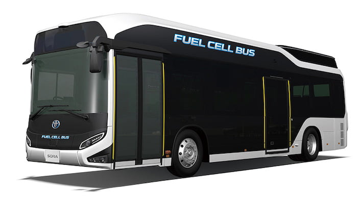Toyota Motor Corporation Luncurkan Bus Listrik Sora1