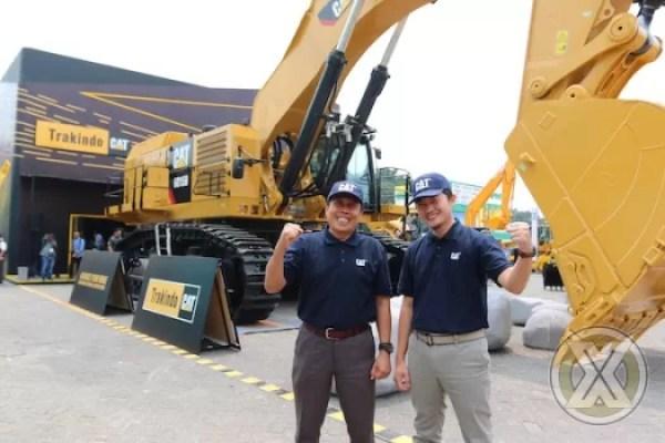 TRAKINDO Kenalkan Teknologi Cat MineStar System Di Mining Indonesia 2019