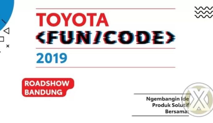 Roadshow Toyota Fun/Code Menuju Bandung