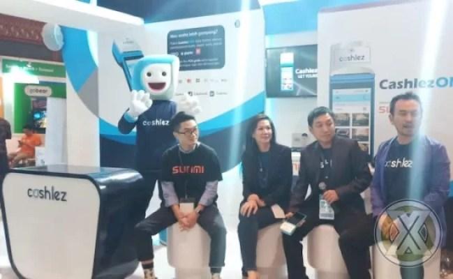 Cashlez Meriahkan Ajang Fintech Summit 2019 Di JCC Senayan