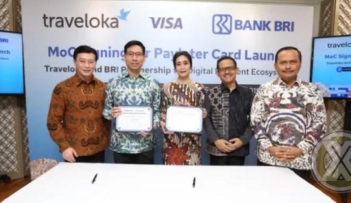 Bank BRI Bersama Traveloka Siap Luncurkan PayLater Card