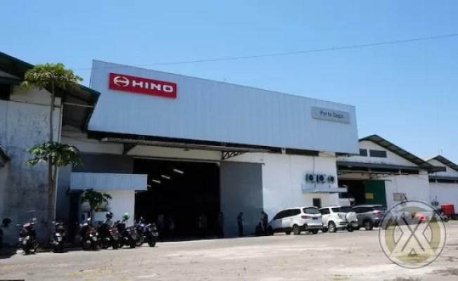 Hino Dirikan Part Depo kelima di Makassar