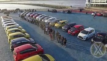 Deklarasi Toyota Agya Club Chapter Kendari