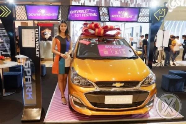 Program Chevrolet 101 Festival Pelanggan Bawa Pulang Spark