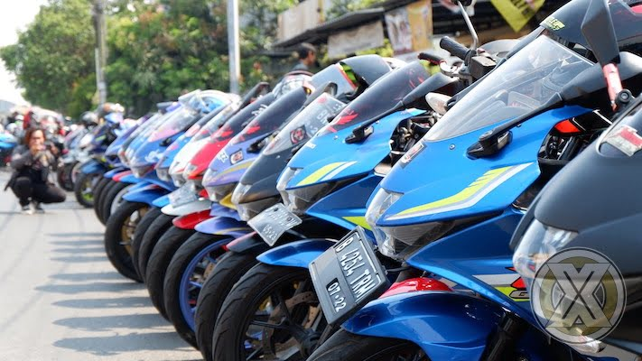 Sunmori All Riders Suzuki Sedot Ribuan Bikers