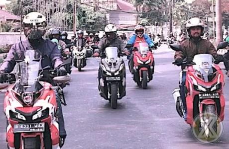 Pemilik ADV150 Jakarta Sering Kopdar Walapun Belum Resmi