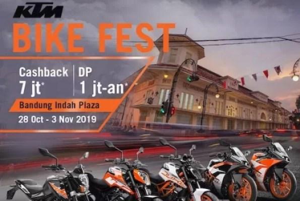 KTM BIKEFEST Tampil di Bandung Indah Plaza