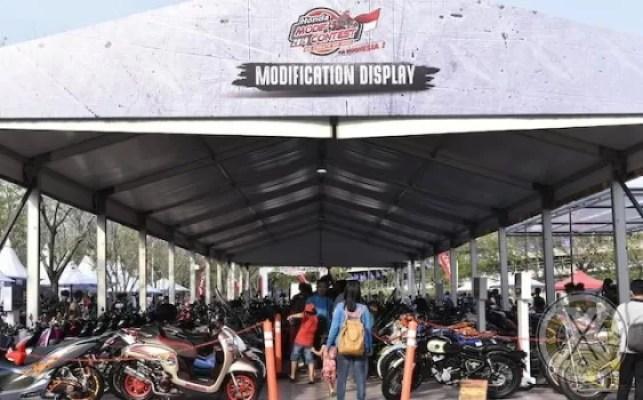 Honda Modif Contest Jakarta Penuh Ide dan Kreatifitas