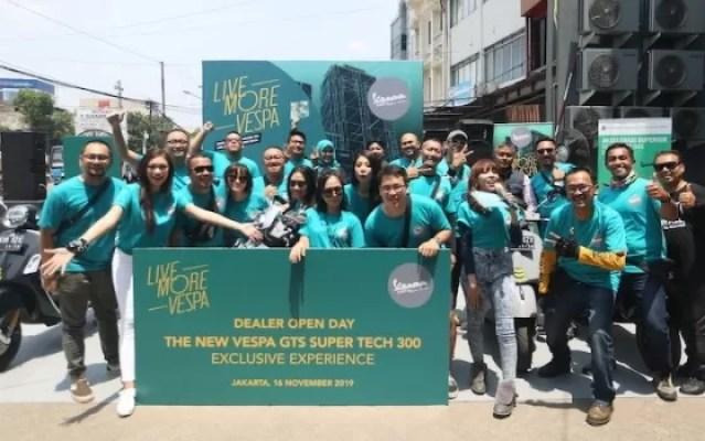 Dealer Open Day Hadir Bagi Pecinta Vespa di Jakarta Timur