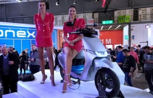 KYMCO Perkenalkan i-One Smart Scooter di EICMA 2019