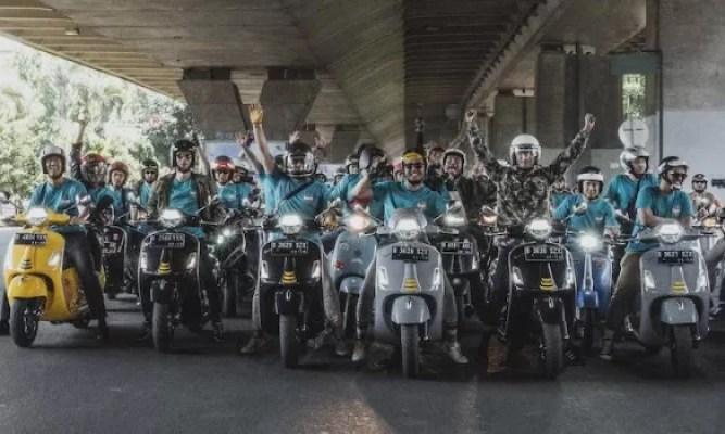 Dealer Open Day Sapa Bandung Dengan Vespa GTS Super Tech 300