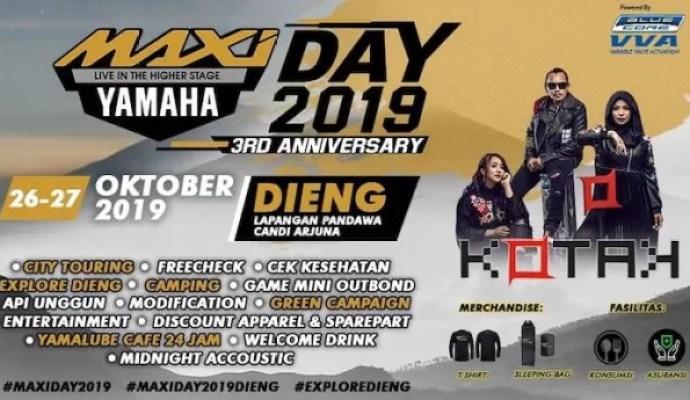 Perayaan MAXI Yamaha Day Yang ketiga