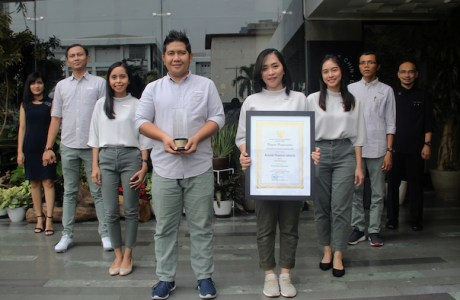 ARTOTEL Thamrin Jakarta Raih Penghargaan Hotel Bintang Tiga Terbaik