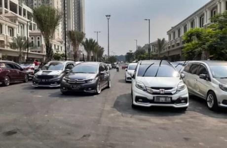 Komunitas Mobility Pecahkan Rekor Muri Uji Emisi 1.000 Honda Mobilio