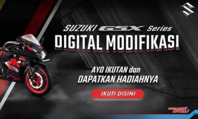 Kompetisi Desain Livery Bersama Suzuki GSX Series Digital Modifikasi