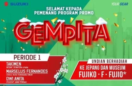 Pemenang Suzuki Program ' GEMPITA '