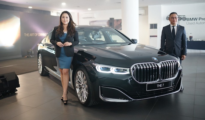 BMW THE NEW 7 Hadir Di Medan, Sumatera Utara