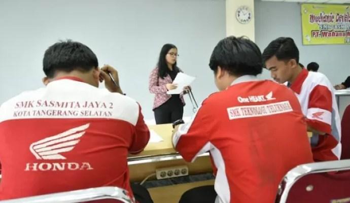 Ratusan SMK Binaan ikuti tes kerja mekanik AHASS