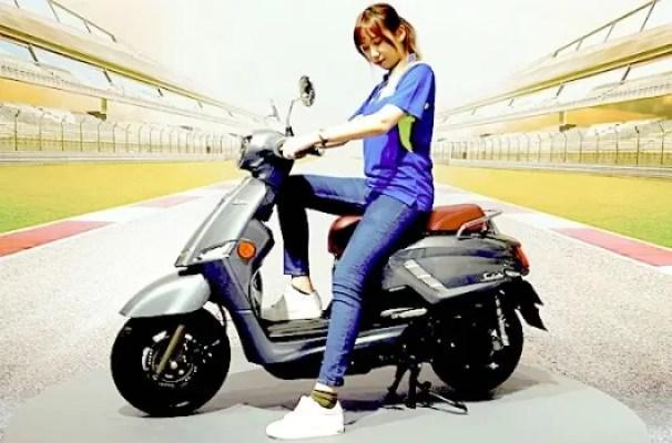 Suzuki Saluto 125 Pesaing Vespa