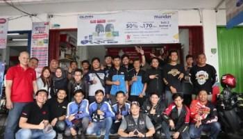 Shop&Bike Bersama Pirelli Indonesia Ajak Komunitas Adakan Sunmori