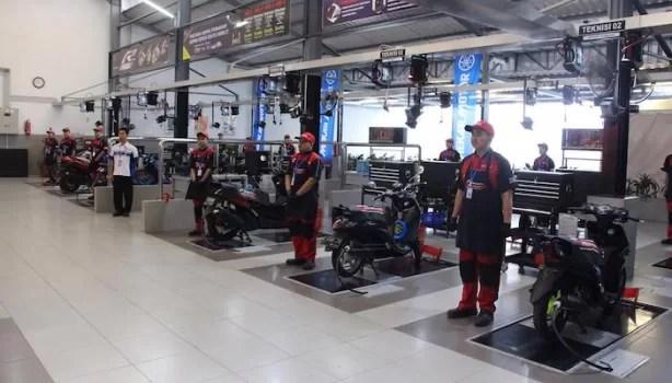 Yamaha Mekar Service Centre Tawarkan Fasilitas Modern Di Cibinong