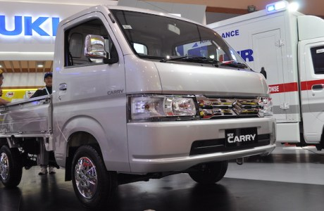 Target Suzuki New Carry Pikap Luxury Di GIICOMVEC 2020