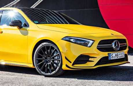 Launching The new Mercedes AMG A35 4MATIC