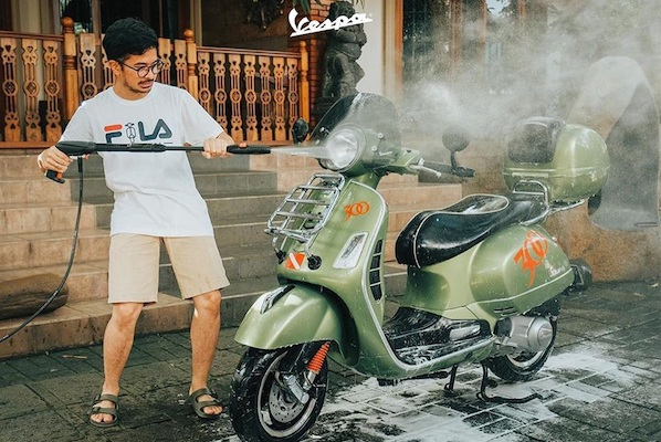 "Piaggio Indonesia Adakan Kompetisi Konten Digital ""Live More at Home"""