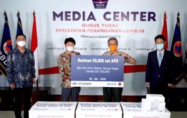 Hyundai Dukung Tenaga Medis Indonesia Atasi Pandemi Corona