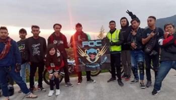 Saat 5 Klub Suzuki Satria Yogyakarta Melakukan Tourgab