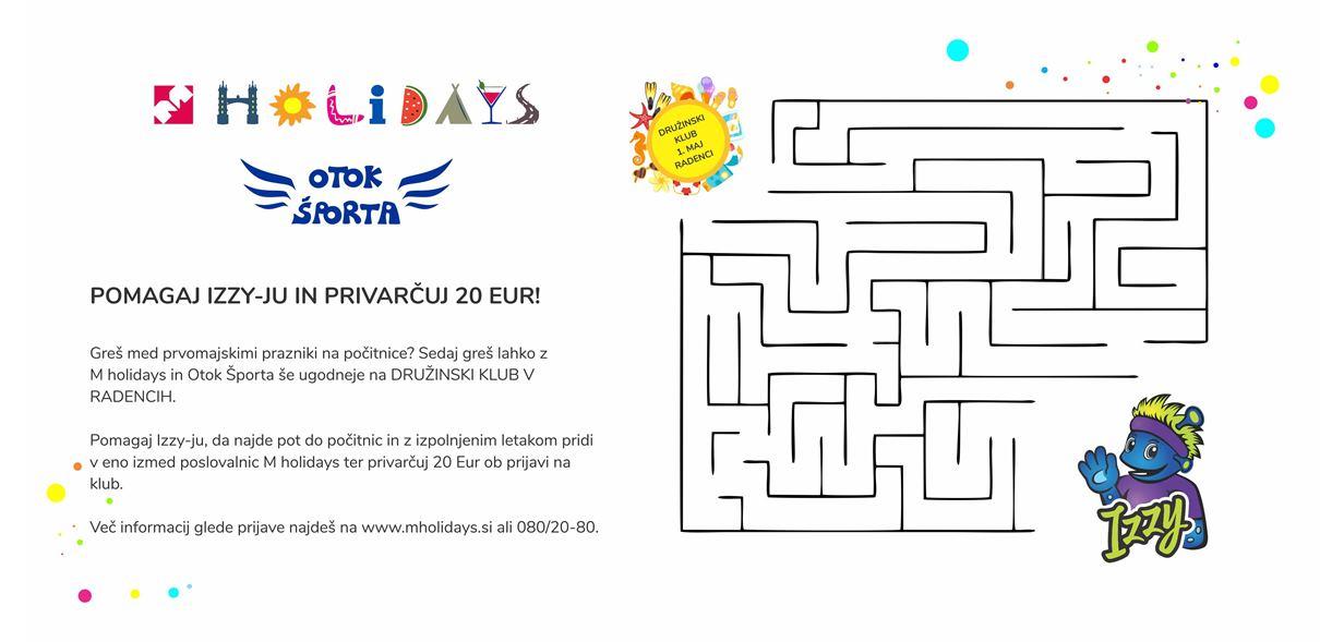 družinski klub 1 maj m holidays in otok športa