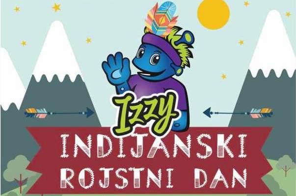 vabilo indijanski rojstni dan
