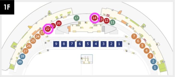 空港バスマップ