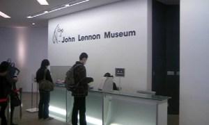 受付:『ジョン・レノン・ミュージアム』を観る