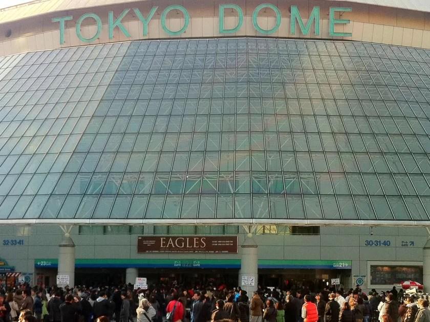 イーグルスのライブを東京ドームで観る